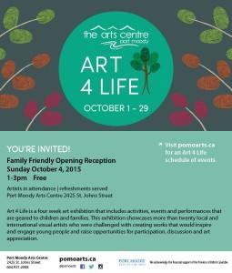 Art 4 Life 2015_Artist Evite