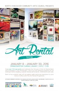 Art Rental Show 2016 poster